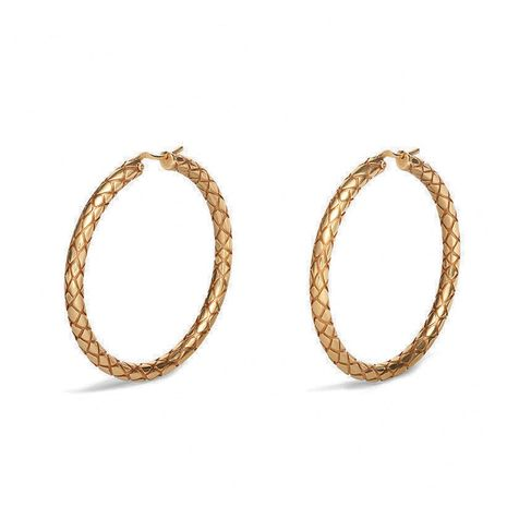 fashion neutral large circle plaid snake pattern big earrings wholesale nihaojewelry NHNT239319's discount tags