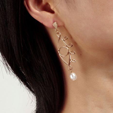 Mode de style bohème Oeil exagéré boucles d'oreilles en perles ethniques en gros nihaojewelry NHRN239500's discount tags