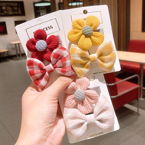 New fashion hot sale  cute bowJapanese bangs hair  clip set  NHSA239527's discount tags
