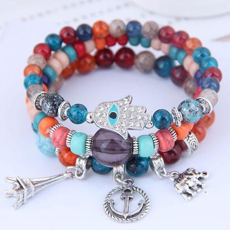 tendance de la mode simple polyvalent pendentif multi-éléments bracelet multicouche en gros nihaojewelry NHSC240017's discount tags