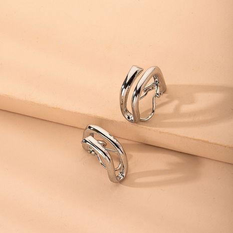 Corea simple estilo fresco clip de oreja al por mayor nihaojewelry NHAI239689's discount tags