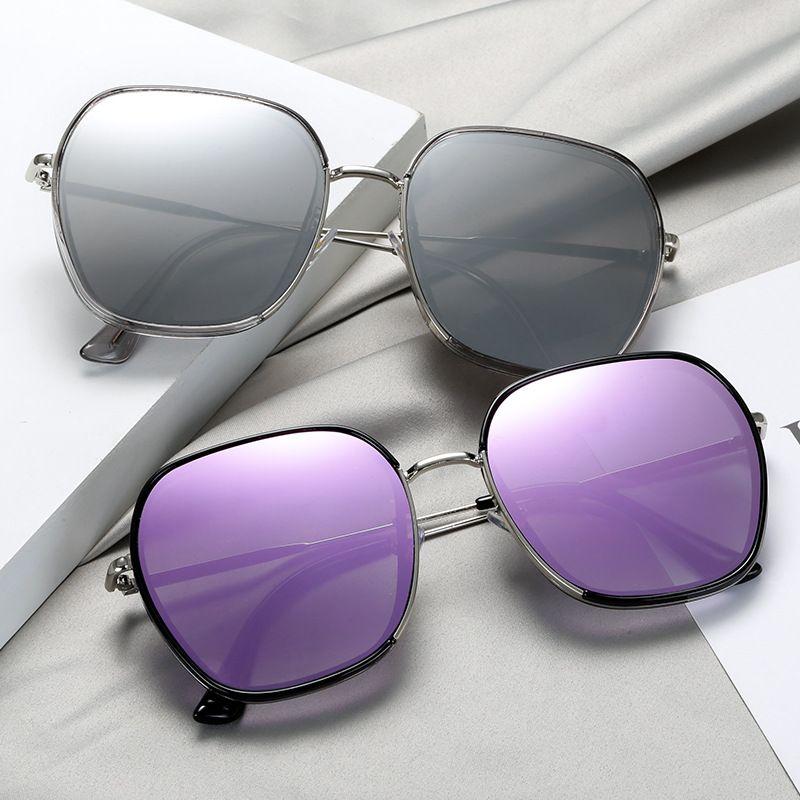 New Korean fashion big frame glasses men's and women's trend sunglasses wholesale NHBA239743