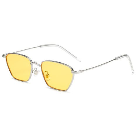New metal glasses frame men's and women's red ocean lens sunglasses wholesale NHBA239744's discount tags