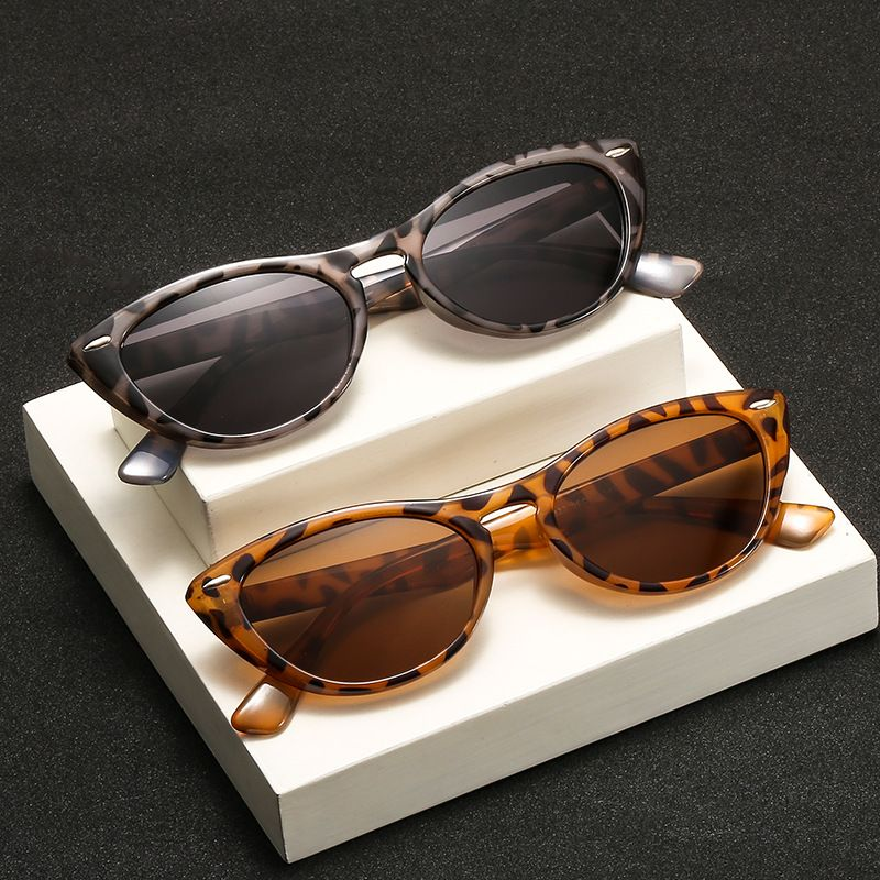 Fashion cat eye rice nail trend retro classic small frame sunglasses wholesale NHBA239755