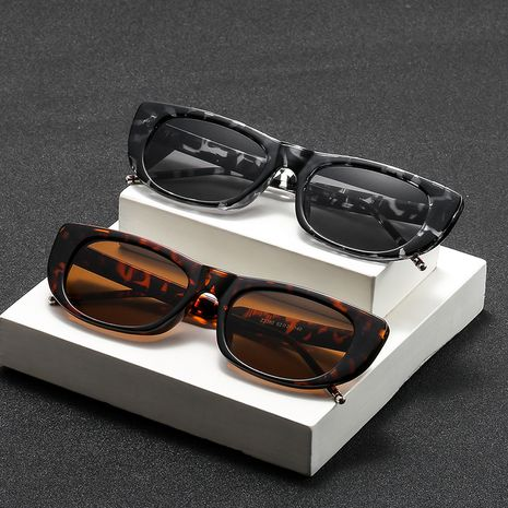 New fashion Korean fashion trend ladies frame metal hinge sunglasses wholesale NHBA239758's discount tags