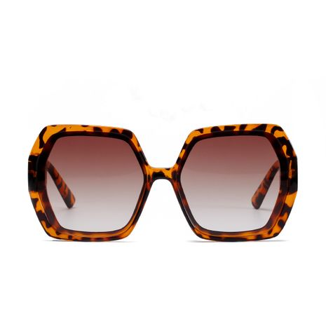 Oversized frame Korean fashion trend retro men's and women's new frame diamond sunglasses  NHXU239767's discount tags