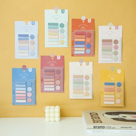 convenient N times stickers creative gradient color diy decoration index mark sticky notes stickers wholesale NHZE239770's discount tags