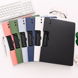 A4 board folder stationery test paper data storage book writing pad student hard file folder NHZE239774's discount tags