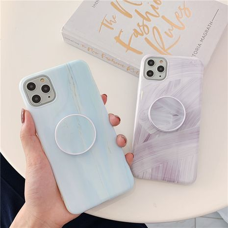 simple marble stand mobile phone case for iphonex 7p 8p 11Pro wholesale NHFI239887's discount tags