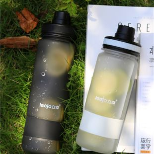 Korean summer large-capacity students outdoor portable water frosted plastic cup sports fitness water bottle  NHtn239945's discount tags