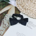 NHUX864559-Black-cotton-ribbon-cotton-ribbon-bow-hair-tie