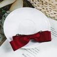 NHUX864561-Burgundy-Cotton-Ribbon-Bow-Hairpin