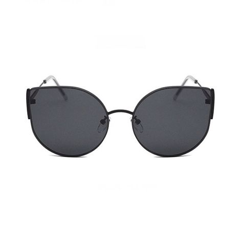 New ocean trend glasses large frame cat eye men's and women's sunglasses NHBA239735's discount tags