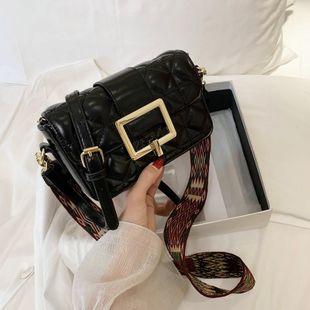 Français texture populaire sac nouvelle mode tendance losange messenger sac femelle sauvage rétro petit sac carré en gros NHJZ231499's discount tags
