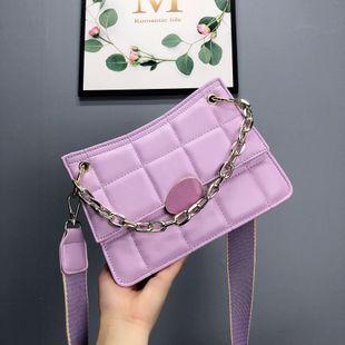 Mode coréenne simple petit sac femelle nouveau sac à bandoulière épaule sauvage rhombique en gros NHJZ231501's discount tags