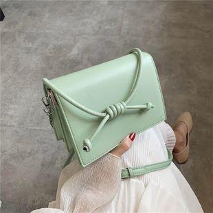 nouvelle mode sauvage messenger sac coréen simple style chaîne de couleur unie petit sac carré en gros NHJZ231502's discount tags
