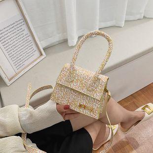 nouveau mini sac mode simple sac à bandoulière diagonale sac à main fleurs à la mode petit sac en gros NHJZ231508's discount tags