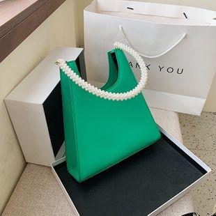 Français niche sac femme sac nouvelle tendance populaire mode perle embrayage épaule aisselle sac en gros NHJZ231515's discount tags
