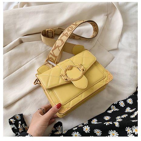 nouveau sac à bandoulière simple tendance à la mode sauvage à large bande Lingge petit sac carré en gros NHTC231518's discount tags