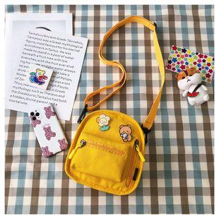 coréen petit sac mignon nouveau sac de messager en toile créative en gros NHTC231532's discount tags
