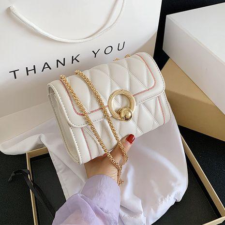 nouveau petit sac populaire nouvelle tendance diamant sauvage chaîne bandoulière sac texture petit sac carré nihaojewelry gros NHTC231552's discount tags