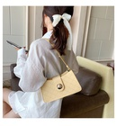 French bag leisure female bag   new wave fashion popular oneshoulder armpit bag niche foreign messenger bag nihaojewelry wholesale NHTC231561