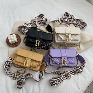 nouvelle mode coréenne losange chaîne messenger petit sac carré femme sauvage casual large bandoulière sac à bandoulière en gros NHPB231597's discount tags