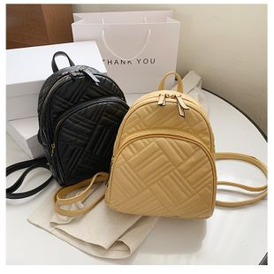 nouveau mode simple style sac à dos messenger sac sauvage broderie fil sac à dos nihaojewelry gros NHTC231612's discount tags
