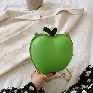 été nouvelle mode pomme forme sac mode sac à bandoulière mignon bonbons couleur chaîne sac téléphone portable porte-monnaie en gros NHGA231617's discount tags