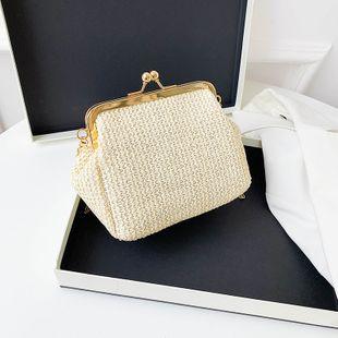 nouveau sac de paille imitation mini shell chaîne d'été petit sac femme simple sac à bandoulière en gros NHXC231626's discount tags