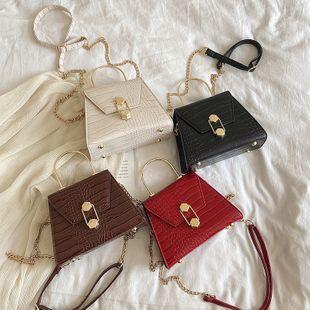 nouveau sac à bandoulière coréen rétro motif de pierre sauvage femme mode texture messenger petit sac carré en gros NHPB231660's discount tags