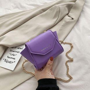 nouvelle mode casual chaîne épaule messenger sac simple sauvage solide couleur mini sac en gros NHPB231668's discount tags