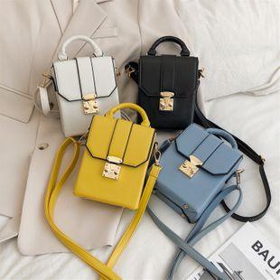 nouveau coréen épaule épaule messenger sac femelle rétro mode sac à main serrure mini seau sac en gros NHPB231669's discount tags