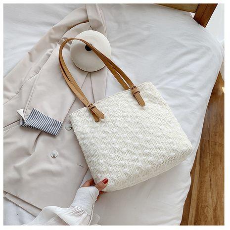 mode simple grand sac femmes sac nouveau tendance grande capacité sauvage sac à main sac à bandoulière nihaojewelry gros NHTC231700's discount tags