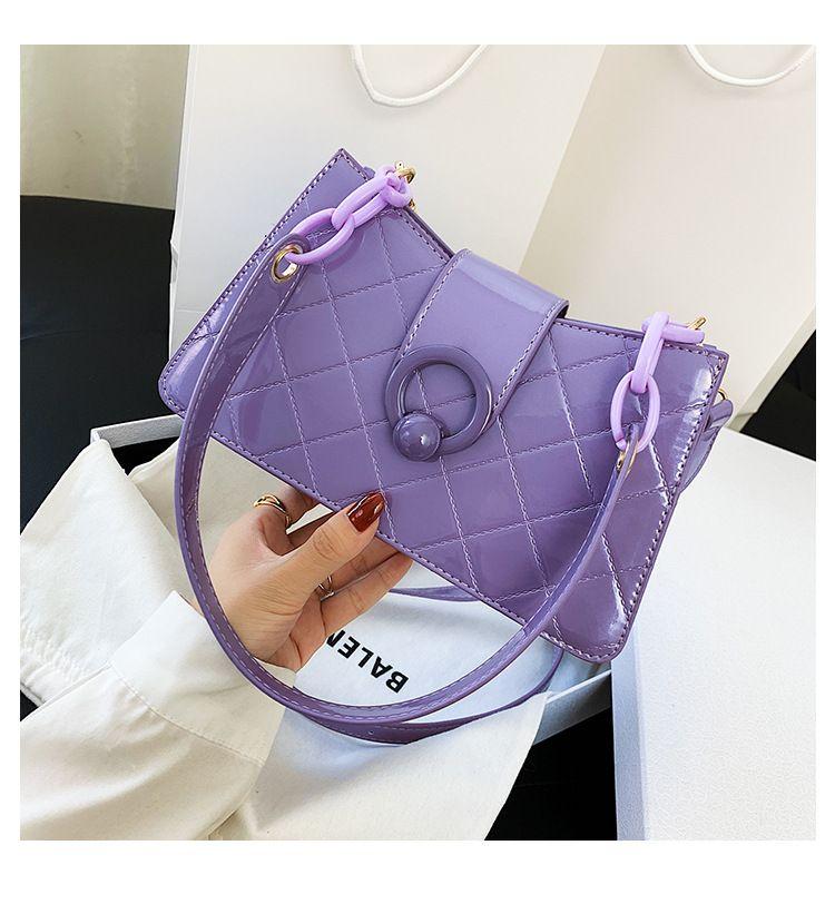 ladies bag  new trendy wild diamond crossbody bag  fashion shoulder underarm bag  wholesale NHTC231719