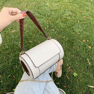 mode oreiller sac sac à main personnalité cylindre sac chaîne chaîne sac féminin nouveau Boston sac épaule messenger sac en gros NHJZ231725's discount tags