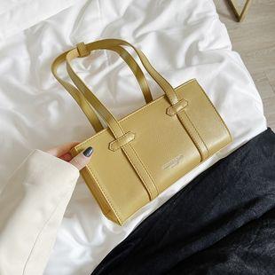 Niche française de haute qualité petit sac nouvelle tendance sac à bandoulière texture populaire sac sous les bras en gros NHJZ231729's discount tags