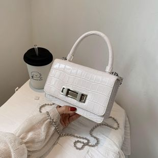 mode vente chaude petit sac sac féminin nouveau tempérament épaule portable diagonale petit sac carré en gros NHJZ231732's discount tags