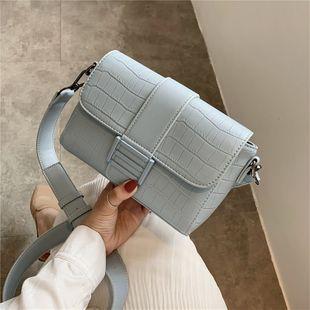 Texturé petit sac nouveau mode coréen sauvage mode pierre grain air étranger Messenger sac simple petit sac carré en gros NHJZ231736's discount tags