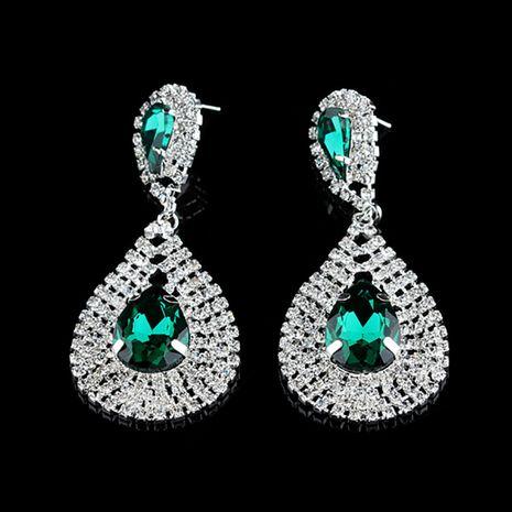 hot sale earrings fashion big drop-shaped diamond earrings wholesale nihaojewelry NHNZ231834's discount tags