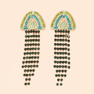 hot sale new creative jellyfish tassel earrings jewelry wholesale nihaojewelry NHJJ231856's discount tags