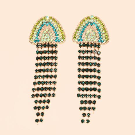 hot sale new creative jellyfish tassel earrings jewelry wholesale nihaojewelry NHJJ231856's discount tags