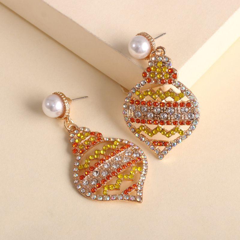 hot sale creative geometric earrings jewelry wholesale nihaojewelry NHJJ231861