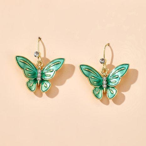 Coreanos nuevos pendientes de mariposa estilo de verano pendientes de mariposa al por mayor nihaojewelry NHGY231961's discount tags