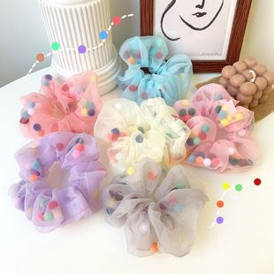 New fashion candy color elegant wild cheap scrunchies wholesale NHOF211381's discount tags