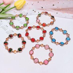New cat's eye bracelet jewelry crystal handmade jewelry Korean bracelet jewelry wholesale nihaojewelry NHNA232080's discount tags