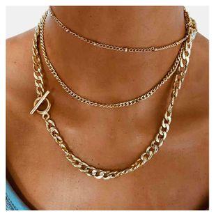 cadena de clavícula simple moda collar geométrico popular venta caliente al por mayor nihaojewelry NHCT232091's discount tags