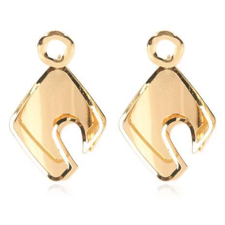 nuevos pendientes de oro geométricos de aleación de estilo retro al por mayor nihaojewelry NHCT232100's discount tags