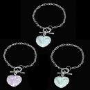 bracelet mode doux amour diamant bracelet tendance motif lumineux dames bijoux en gros nihaojewelry NHCU232145