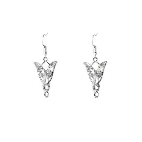 Hobbit Lord of the Rings Lord of the Rings Elven Princess Twilight film style earring wholesale nihaojewelry NHCU232158's discount tags